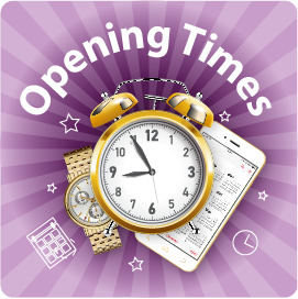 1Opening Times NEW